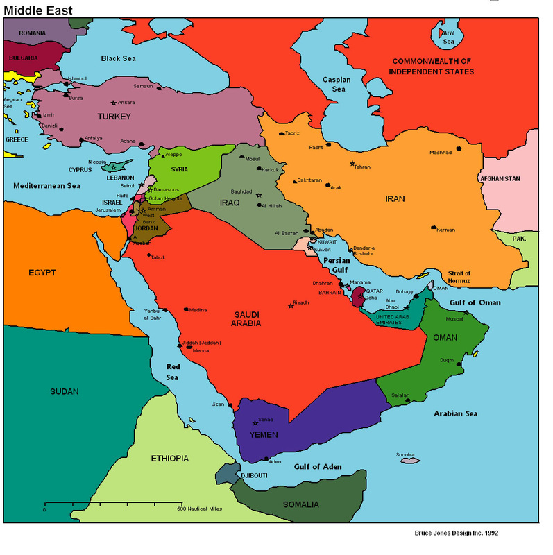 VC Market in The Middle East